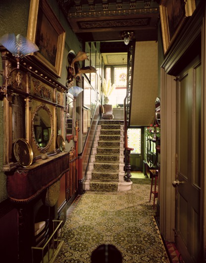 Stairs and hall Linley Sambourne House