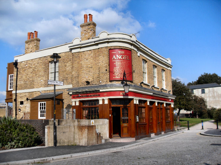 Angel pub Bermondsey