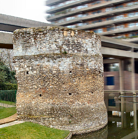 Roman Tower Cripplegate