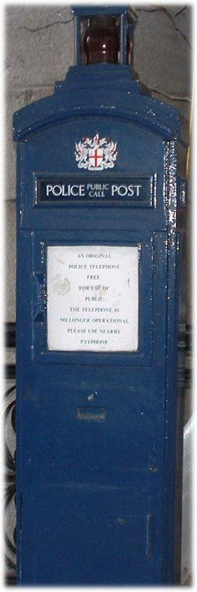 police phone box