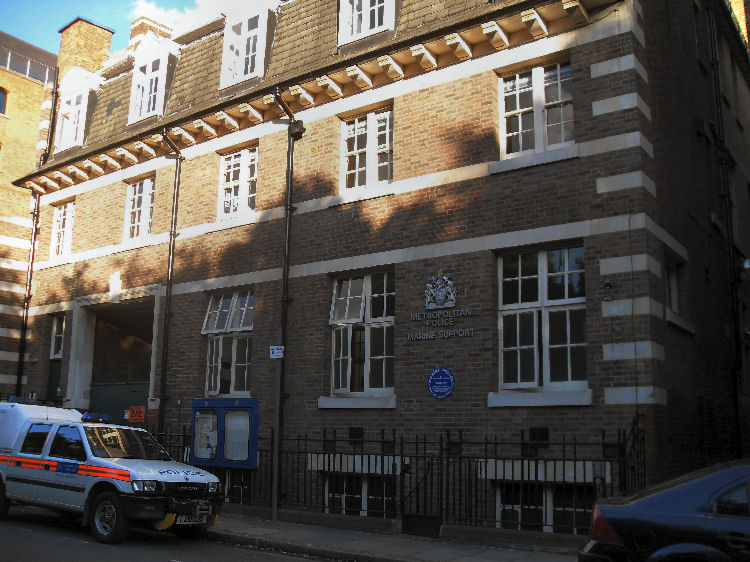 Police station wapping
