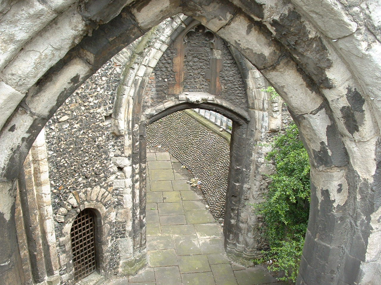 Norman arch at St Alphage